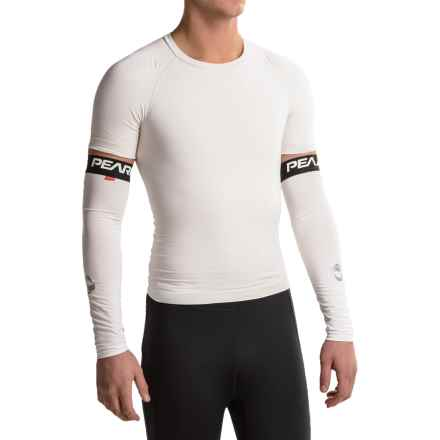 Pearl Izumi ELITE Transfer Sun Sleeves - UPF 50+ (For Men and Women) in White - Closeouts
