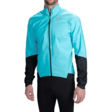 Pearl Izumi ELITE WxB Cycling Jacket - Waterproof (For Men) in Blue Atoll - Closeouts