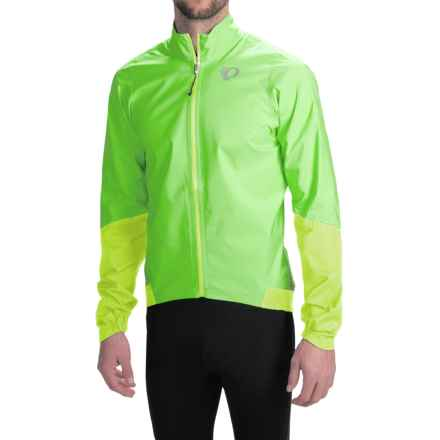 Pearl Izumi ELITE WxB Cycling Jacket - Waterproof (For Men) in Screaming Green - Closeouts