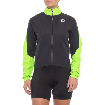 Pearl Izumi ELITE WxB Cycling Jacket - Waterproof (For Women) in  Black Screaming 40aab4d04