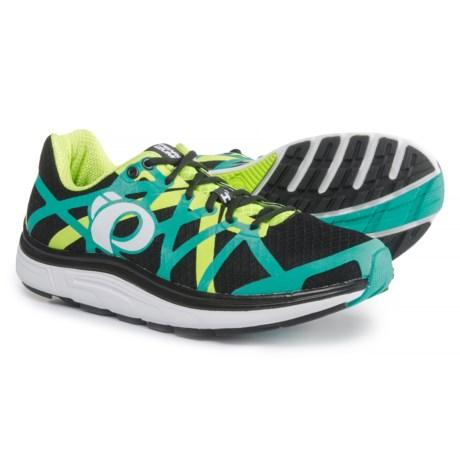 Pearl Izumi E:MOTION Road H3 V2 Running Shoes (For Men) in Black/Dynasty Green