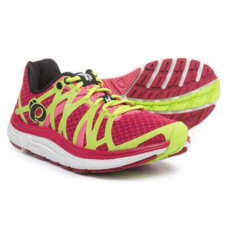 Pearl Izumi E:MOTION Road H3 V2 Running Shoes (For Women) in Cerise/Honeysuckle - Closeouts