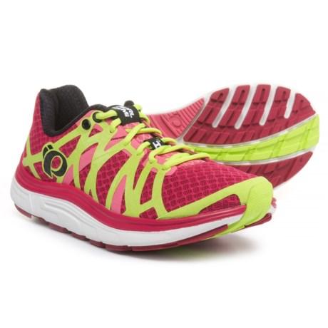 Pearl Izumi E:MOTION Road H3 V2 Running Shoes (For Women) in Cerise/Honeysuckle