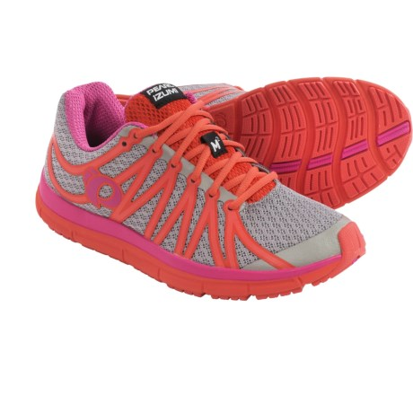 Pearl Izumi E:MOTION Road M2 v2 Running Shoes (For Women) in Paloma/Rose Violet