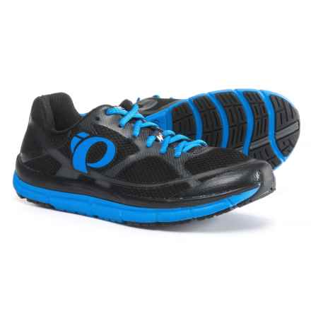 Pearl Izumi E:MOTION Road M2 V3 Running Shoes (For Men) in Black/Fountain Blue - Closeouts