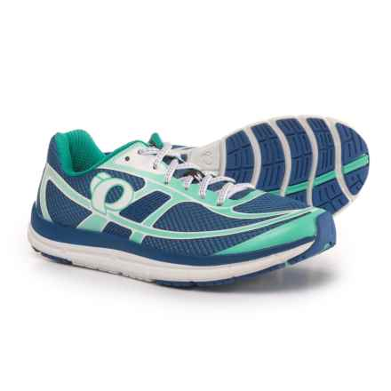 Pearl Izumi E:MOTION Road M2 V3 Running Shoes (For Women) in Palace Blue/White - Closeouts