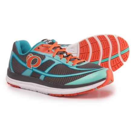 Pearl Izumi E:MOTION Road M2 V3 Running Shoes (For Women) in Smoked Pearl/Aqua Mint - Closeouts