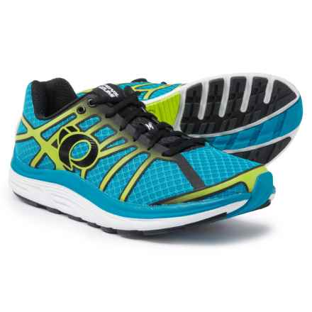 Pearl Izumi E:MOTION Road M3 V2 Running Shoes (For Men) in Blue Methyl/Lime Punch - Closeouts