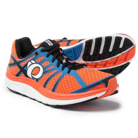 Pearl Izumi E:MOTION Road M3 V2 Running Shoes (For Men) in Red Orange/White - Closeouts