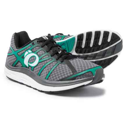 Pearl Izumi E:MOTION Road M3 V2 Running Shoes (For Men) in Shadow Grey/Dynasty Green - Closeouts