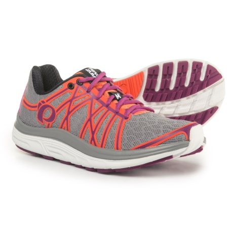 Pearl Izumi E:MOTION Road M3 V2 Running Shoes (For Women) in Smoked Pearl/Clementine