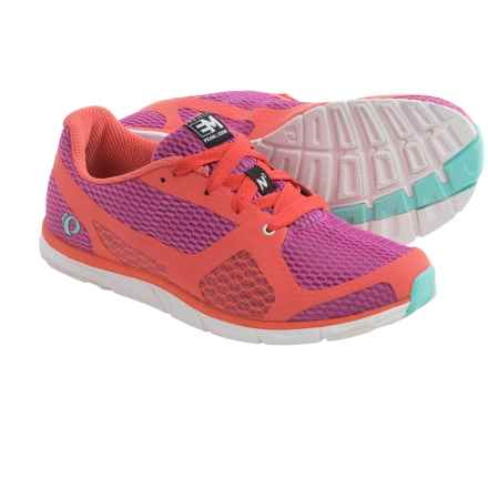 Pearl Izumi E:Motion Road N0 Running Shoes (For Women) in Rose Violet/Living Coral - Closeouts