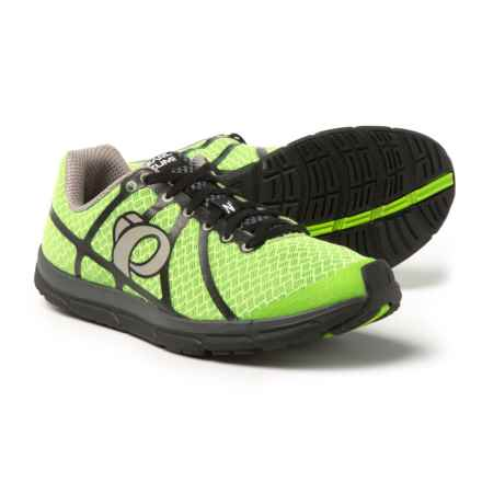 Pearl Izumi E:Motion Road N1 v2 Running Shoes (For Men) in Green Flash/Black - Closeouts