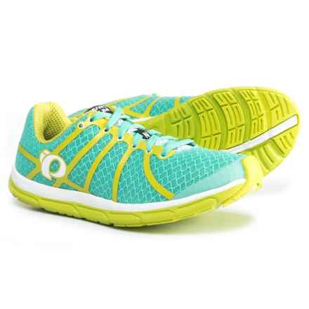Pearl Izumi E:MOTION Road N1 v2 Running Shoes (For Women) in Aqua Mint/Lime Punch - Closeouts