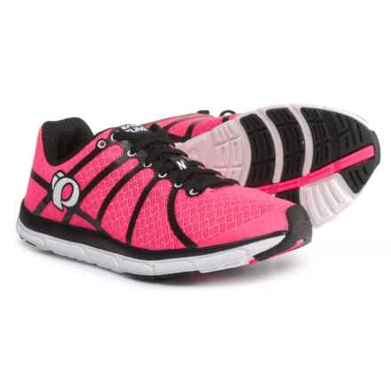 Pearl Izumi E:MOTION Road N1 v2 Running Shoes (For Women) in Black/Screaming Pink - Closeouts