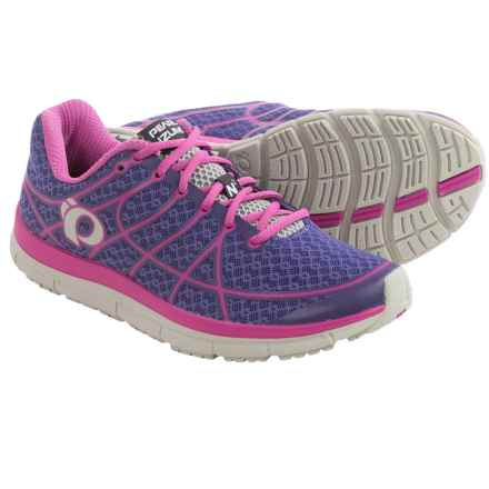 Pearl Izumi E:MOTION Road N2 v2 Running Shoes (For Women) in Wisteria/Rose Violet - Closeouts