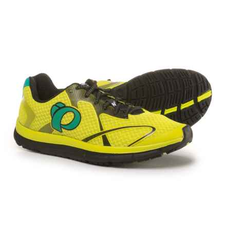 Pearl Izumi E:MOTION Road N2 V3 Running Shoes (For Men) in Lime Punch/Black - Closeouts
