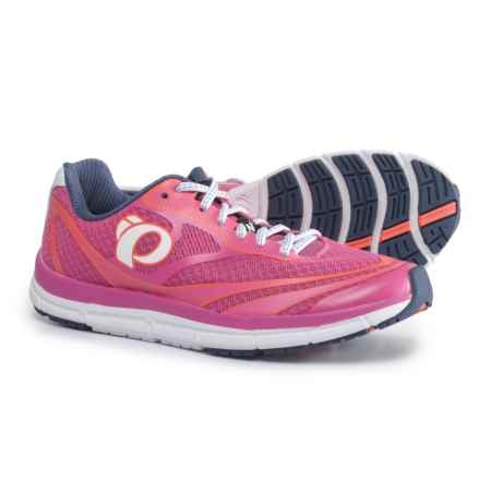 Pearl Izumi E:MOTION Road N2 V3 Running Shoes (For Women) in Ibis Rose/White - Closeouts