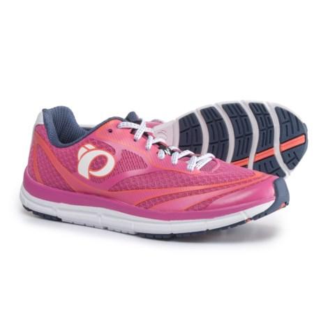 Pearl Izumi E:MOTION Road N2 V3 Running Shoes (For Women) in Ibis Rose/White