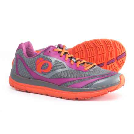 Pearl Izumi E:MOTION Road N2 V3 Running Shoes (For Women) in Monument/Clementine - Closeouts
