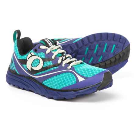 Pearl Izumi E:MOTION Trail M2 V2 Running Shoes (For Women) in Dynasty Green/Deep Wisteria - Closeouts