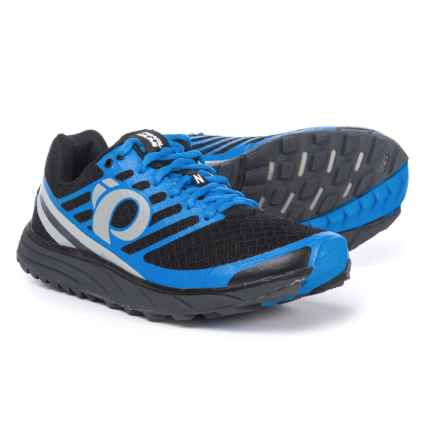 Pearl Izumi E:MOTION Trail N1 V2 Running Shoes (For Men) in Black/Fountain Blue - Closeouts