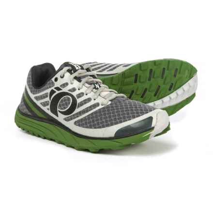 Pearl Izumi E:MOTION Trail N1 V2 Running Shoes (For Men) in Shadow Grey/Cactus - Closeouts