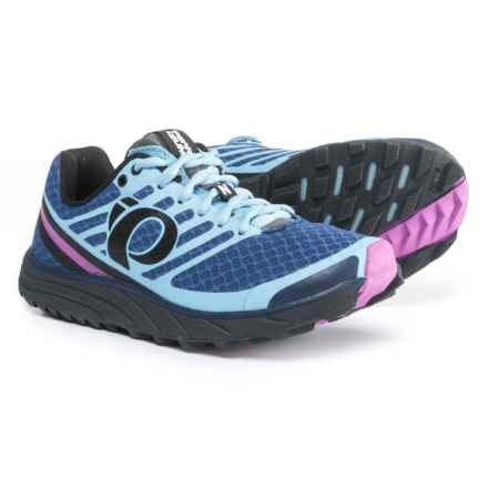 Pearl Izumi E:MOTION Trail N1 V2 Running Shoes (For Women) in Deep Indigo/Shadow Grey - Closeouts