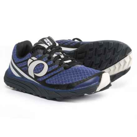Pearl Izumi E:MOTION Trail N1 V2 Running Shoes (For Women) in Deep Wisteria/Black - Closeouts