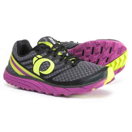 Pearl Izumi E:MOTION Trail N1 V2 Running Shoes (For Women) in Shadow Grey/Meadow Mauve - Closeouts