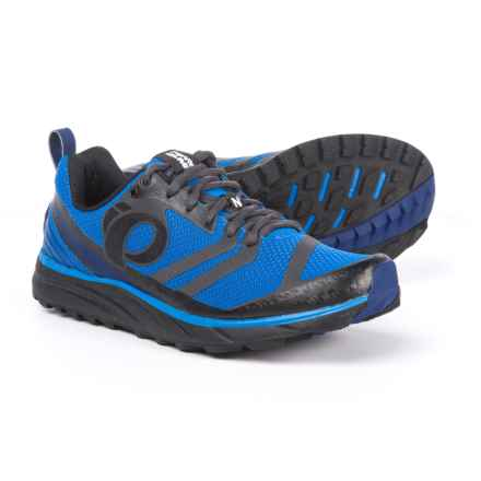 Pearl Izumi E:MOTION Trail N2 V2 Running Shoes (For Men) in Black/Fountain Blue - Closeouts