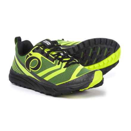 Pearl Izumi E:MOTION Trail N2 V2 Running Shoes (For Men) in Cactus/Lime Punch - Closeouts