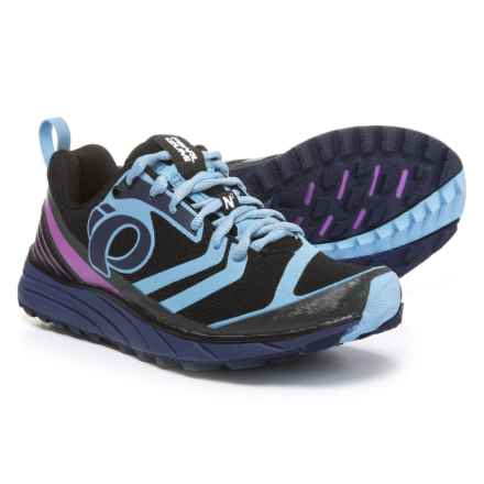 Pearl Izumi E:MOTION Trail N2 V2 Running Shoes (For Women) in Black/Deep Indigo - Closeouts