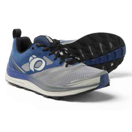 Pearl Izumi E:MOTION Trail N2 V3 Running Shoes (For Men) in Blue Depths/Smoked Pearl - Closeouts