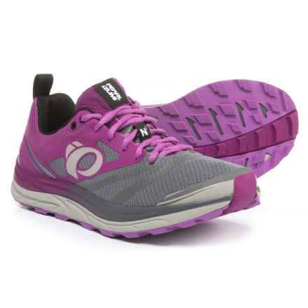 Pearl Izumi E:MOTION Trail N2 V3 Running Shoes (For Women) in Purple Wine/Smoked Pearl - Closeouts