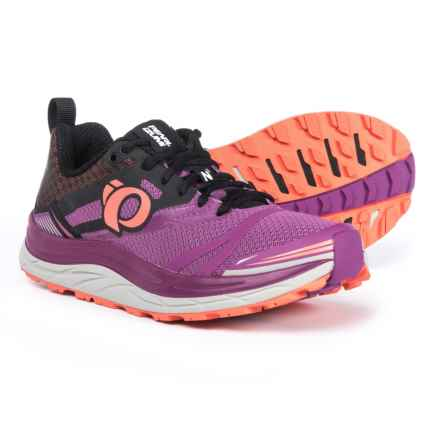 Pearl Izumi E:MOTION Trail N3 Running Shoes (For Women) in Purple Wine/Clementine - Closeouts