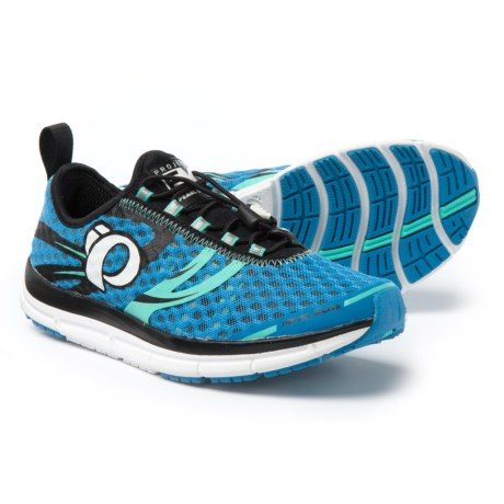 Pearl Izumi E:Motion Tri N2 V2 Running Shoes (For Women) in Sky Blue/Aqua Mint