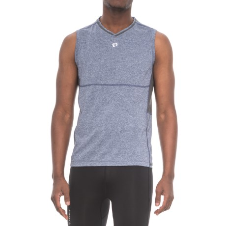 Pearl Izumi Escape Shirt - V-Neck, Sleeveless (For Men) in Deep Indigo