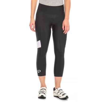 Pearl Izumi Escape Sugar 3/4 Cycling Tights - UPF 50+ (For Women) in Black/White - Closeouts