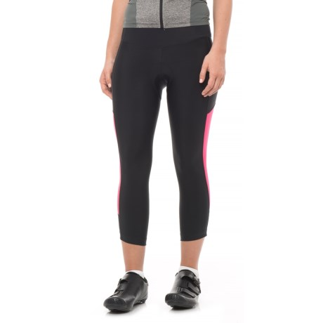 Pearl Izumi Escape Sugar Cycling Knickers - UPF 50+ (For Women) in Black/Screaming Pink