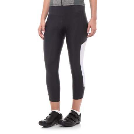 Pearl Izumi Escape Sugar Cycling Knickers - UPF 50+ (For Women) in Black/White