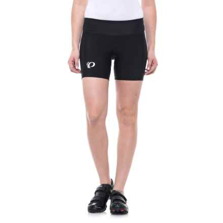 Pearl Izumi Escape Sugar Cycling Shorts (For Women) in Black/Black - Closeouts