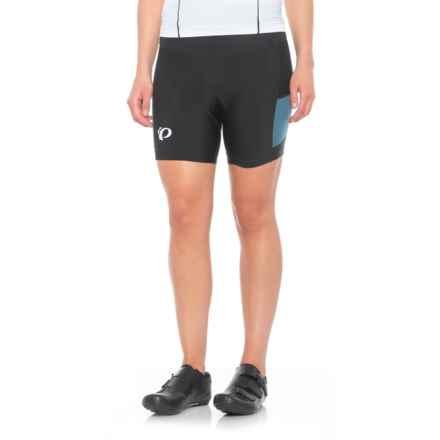 Pearl Izumi Escape Sugar Cycling Shorts (For Women) in Black / Blue Steel - Closeouts