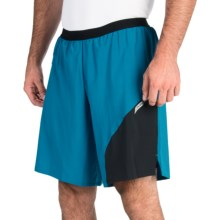 Pearl Izumi Flash 2-in-1 Shorts (For Men) in Mykonos Blue/Black - Closeouts