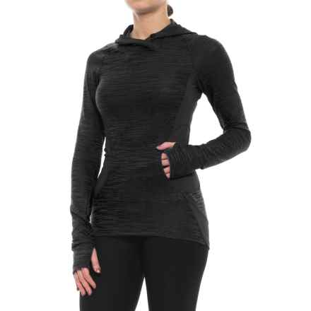 Pearl Izumi Flash Hoodie (For Women) in Black/Shadow Grey - Closeouts