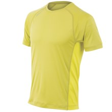 Pearl Izumi Flash T-Shirt - UPF 50+, Short Sleeve (For Men) in Citronelle/Sulphur Springs - Closeouts