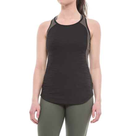 Pearl Izumi Flash Tank Top - UPF 50+, Racerback (For Women) in Black/Shadow Grey - Closeouts