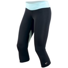 Pearl Izumi Fly 3/4 Tights (For Women) in Black/Petit Four - Closeouts