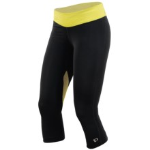 Pearl Izumi Fly 3/4 Tights (For Women) in Black/Sulphur Springs - Closeouts