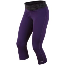 Pearl Izumi Fly 3/4 Tights (For Women) in Blackberry/Black - Closeouts
